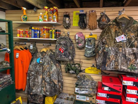 Scent killer and camo for Hunting